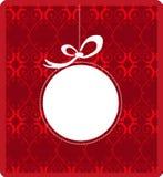 Frame mágico azul do Natal Fotografia de Stock