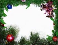 Frame mágico azul do Natal Fotos de Stock Royalty Free