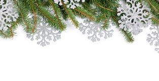 Frame mágico azul do Natal Fotos de Stock