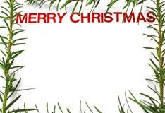 Frame mágico azul do Natal Imagem de Stock Royalty Free