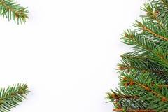 Frame mágico azul do Natal Foto de Stock Royalty Free