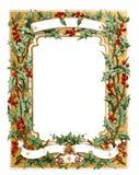 Frame mágico azul do Natal Ilustração Fotos de Stock