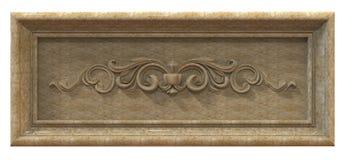 Frame made of granite Royalty Free Stock Image