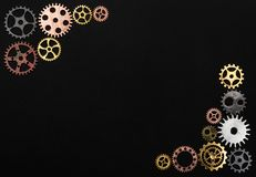 Frame made out of cogwheels vector illustration