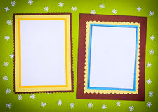 Frame made ​​of paper Royalty Free Stock Image