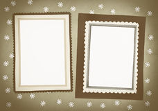 Frame made ​​of paper Stock Images