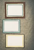 Frame made of paper Royalty Free Stock Photo