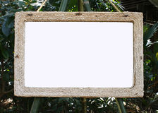 Frame made of rope Royalty Free Stock Image