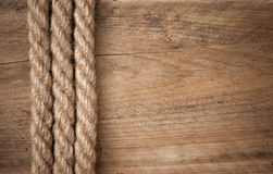 Frame made of rope Royalty Free Stock Photography