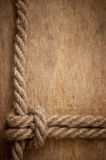 Frame made of rope Royalty Free Stock Photos