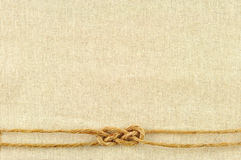 Frame made of ropes Royalty Free Stock Image