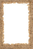 Frame made of a sacking Royalty Free Stock Photography