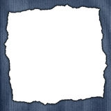 Frame made of weathered blue background with verticall stripes Royalty Free Stock Photos