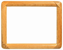 Frame made ​​of wood Royalty Free Stock Photos