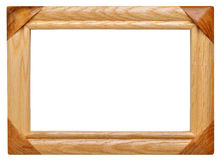 Frame made ​​of wood Stock Photo