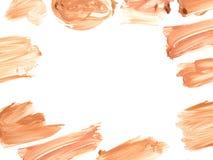 Frame of make up liquid foundation. Royalty Free Stock Image