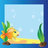 Frame - marine life Royalty Free Stock Photo