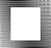 Frame metálico moderno Fotografia de Stock