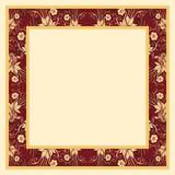 Frame met Bloemen Royalty-vrije Stock Afbeelding