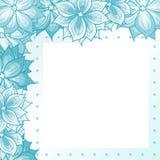 Frame met bloemen Royalty-vrije Stock Foto's