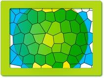 Frame met cellulair ontwerp Stock Fotografie
