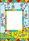 Frame met de lentebloemen. Royalty-vrije Stock Foto's