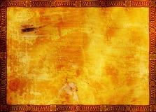 Frame met de traditionele patronen van de Indiaan Royalty-vrije Stock Foto