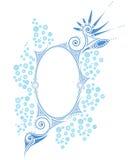 Frame met Decoratief Thema Royalty-vrije Stock Afbeeldingen