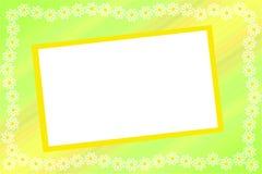 Frame met een bloemgrens vector illustratie