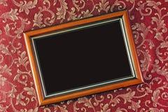 Frame met een donkere achtergrond stock afbeeldingen