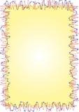 Frame met kleine ballen stock illustratie