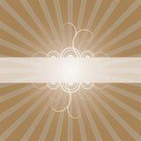 Frame met Lightbursts   royalty-vrije illustratie