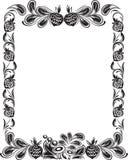 Frame met noten royalty-vrije illustratie