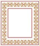 Frame met ornament vector illustratie