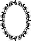 Frame met rozen Royalty-vrije Stock Foto