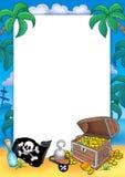 Frame met schatborst Royalty-vrije Stock Fotografie