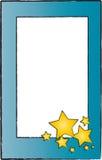 Frame met sterren Royalty-vrije Stock Afbeelding