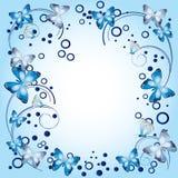 Frame met vlinders Royalty-vrije Stock Foto's