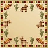 Frame mexicano Imagem de Stock