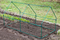 Frame mini greenhouse Royalty Free Stock Image