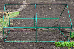 Frame mini greenhouse Royalty Free Stock Photography