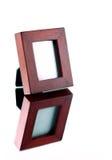 Frame on Mirror Stock Photos