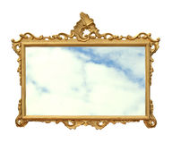 Frame mirror Royalty Free Stock Photography