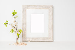 Frame mock up Stock Photo