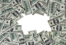 Frame of money Royalty Free Stock Photography