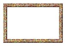 Frame mottled Stock Image