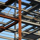 Frame of new building Stock Photo