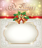 Frame in the New Year decoration Royalty Free Stock Photos