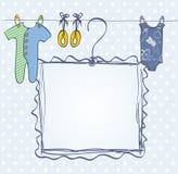 Frame for newborn Stock Image