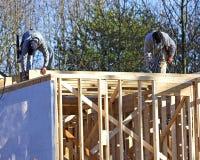 Frame nieuw huis Stock Afbeelding